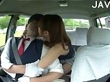 Asian Babe Gets Pussy Fingered In The Car