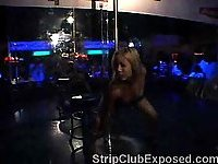 Pole Dancing In Night Club