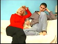 Lad pleasing sex starving mommy