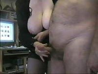Mature Couple Masturbating In Front Of Camera
