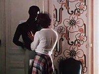 Vintage interracial sex pleasure