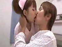 Asian Nurse Gets Hot Session