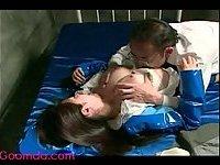Asian slut hairy pussy pounded