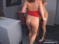Secretary Sara Stone banged in office