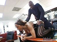 Ayana Angel spreads wide