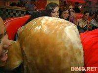 Hot booty slut rides cock