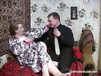 Russian Granny Needs Big Stud