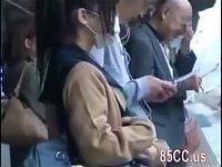 Schoolgirl creampie fucked by geek bus