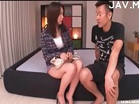 Horny Oriental Doll Tamed With Toy & Dick