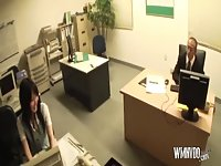 This secretary wants to fuck