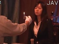 Hot Japanese Babe Fingered In Public