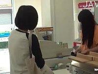 Shopgirl Teasing A Guy