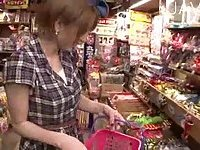 Shopping Girl Gets Seduced In Public