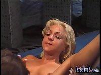 Mila gets aroused