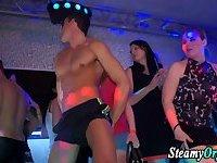 Clothed party sluts