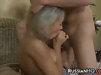 Russian Mothers Get Drilled