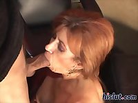 This mature has great oral skills