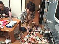 School girl drills by her teacher 04