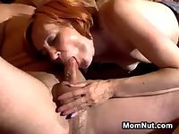 Slender Mother Is Very Horny