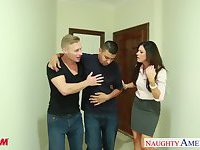 Nasty mom India Summer gets fucked