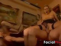 MILFs Fucking In A Foursome