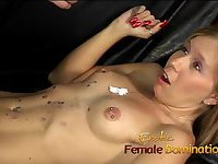 Dominatrix Brandi gets her revenge on her boyfriends secret lover