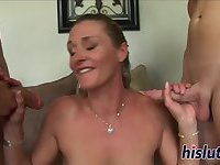Kinky Ivy gets nailed in a threesome