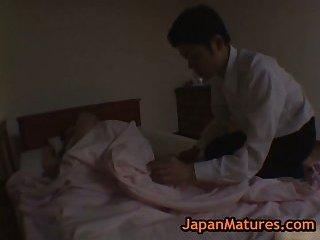 Mature hitomi kurosai gets fucked while dreaming