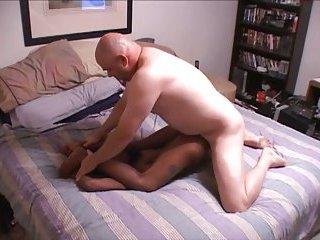 White fucker for a slender chocolate girl