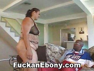 Big Busty Ebony Hardcore Fucked With BBC
