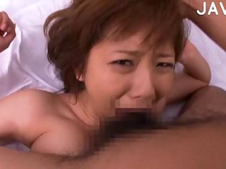 Busty asian chick tasting cum | Big Boobs Update