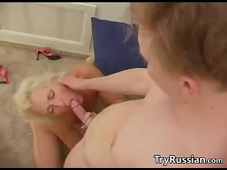 Mature Blonde Russian Wants Dick