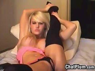 Beautiful Blonde Cam Slut