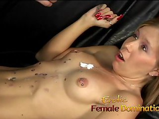 Dominatrix Brandi gets her revenge on her boyfriends secret lover