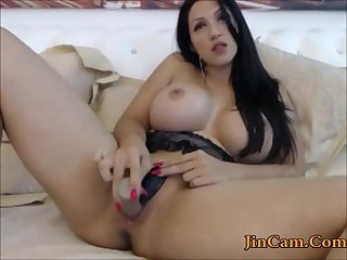 Hottest big tits camgirl sex camshow